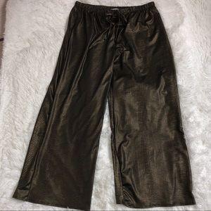 Star Vixen Snake Print Palazzo Pants Size 1X